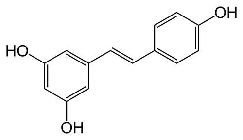 resveratrol en los vinos ecológicos fórmula