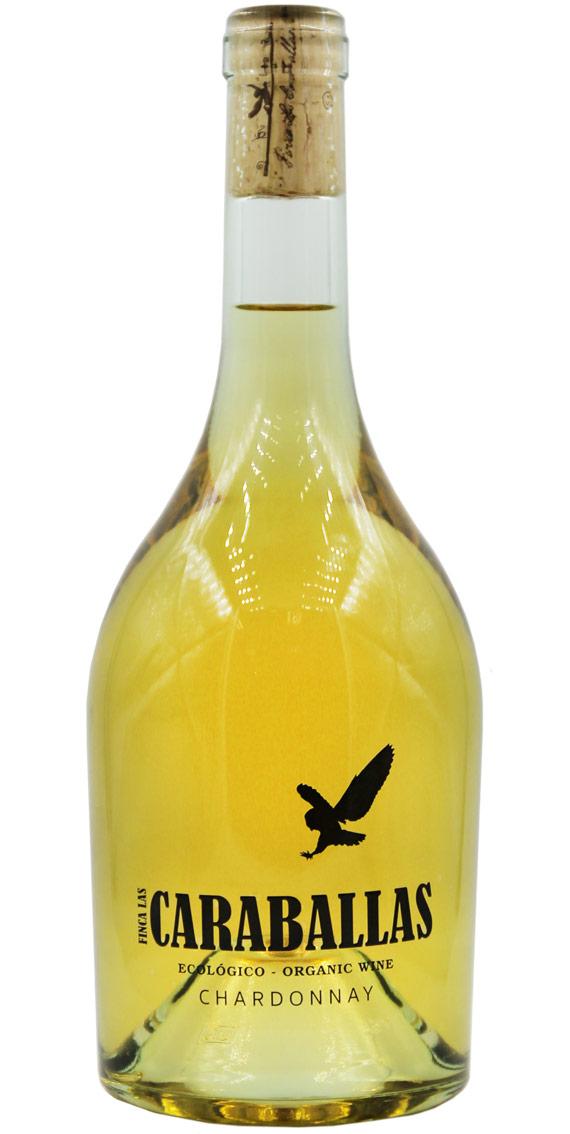Caraballas Chardonnay Ecológico 75cl finca las caraballas botella