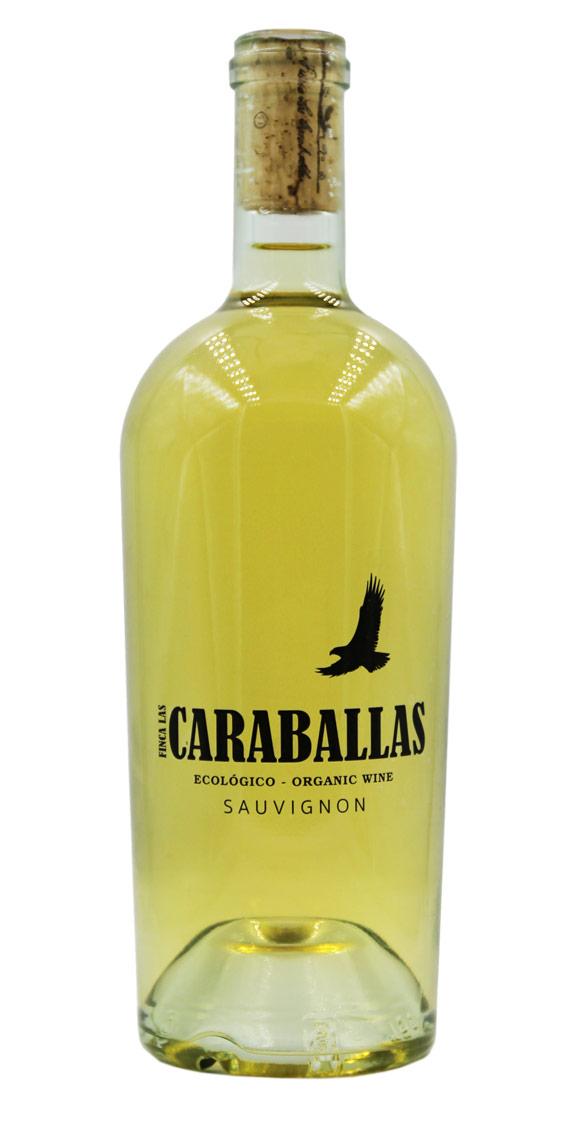 araballas sauvignon ecológico 75cl finca caraballas botella