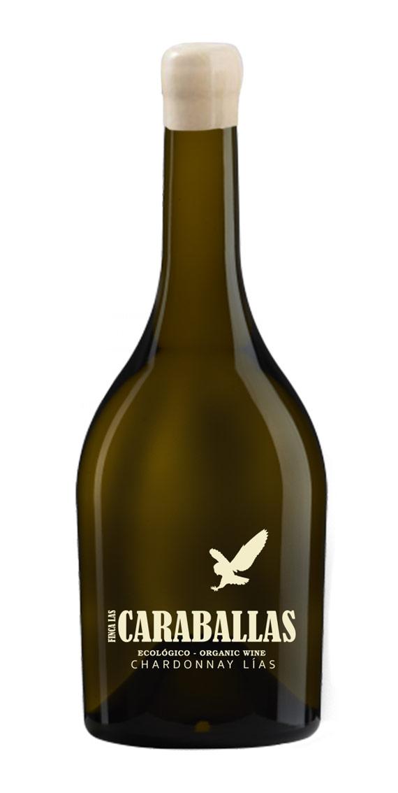 caraballas chardonnay lias ecológico finca las caraballas botella